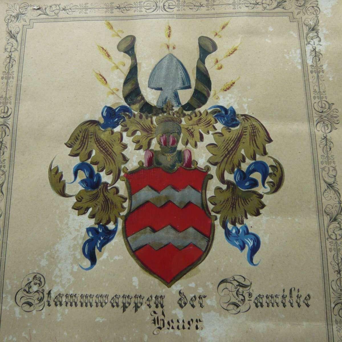 Wappen Familie Bauer 2